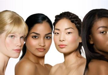 Différents types de peaux existent